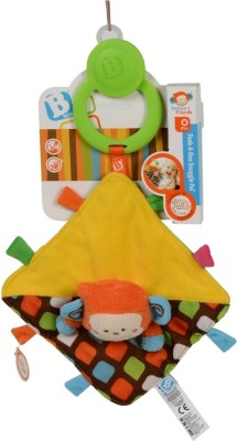 B Kids Peek-A-Boo Snuggle Pal(Multicolor)