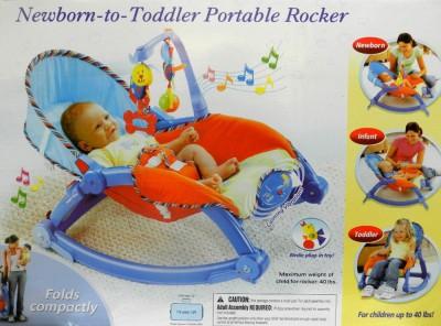 Shop Street Newborn-To-Toddler Portable Rocker