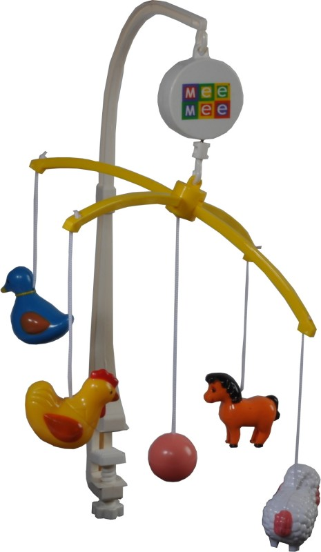 MeeMee Musical Animal Cot Mobile(Multicolor)