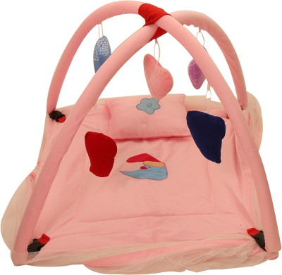 White Swan Baby Play Gym - PEACH