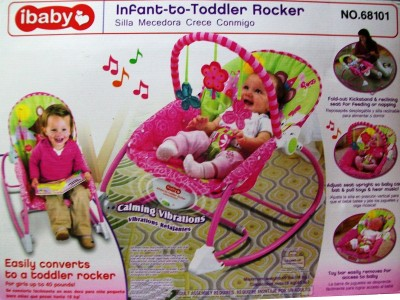 Treasure Box Ibaby infant to toddler rocker