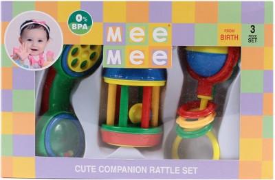 MeeMee Rattles Gift Set - 3pcs