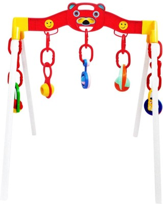 9Perfect Rattle Music Play Gym for Kids(Multicolor)