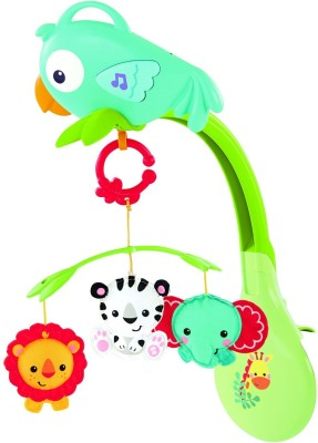 Fisher-Price Rainforest Friends 3 In 1 Musical Mobile