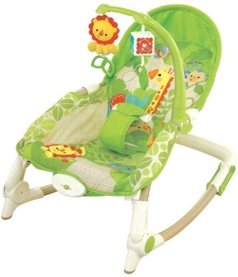 Just Toys Newborn-To-Toddler Portable Rocker Multifunctional Baby Rocking Chair Appease Vibrating.