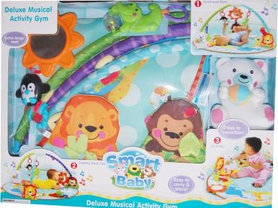 Treasure Box Smart Baby Musical Activity Gym(Multicolor)