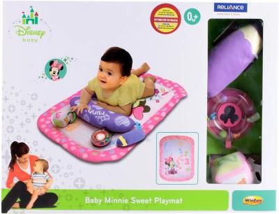 Winfun Baby Minnie Sweet Play Mat(Pink)