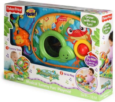 Fisher-Price Rainforest Tummy Play Baby Mat