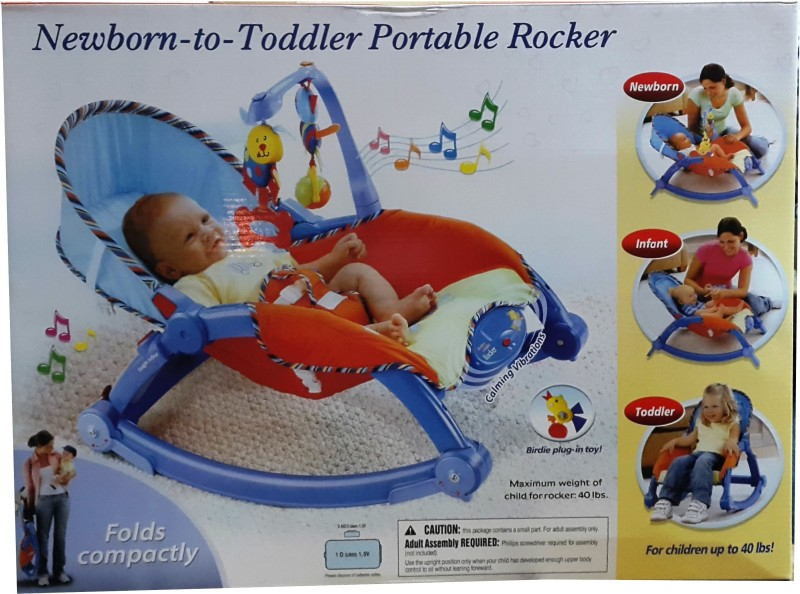 Green zone Newborn Toddler to Portable Rocker(Multicolor)