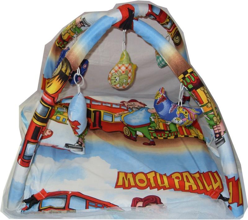 AYAANGLOBALMART MOTU PATLU BABY GYM WITH NET COVER(Multicolor)
