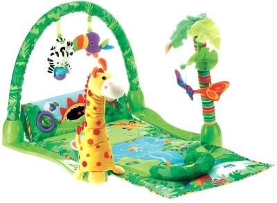 Zest4toyz Infant Play Gym Ocean Wonders Tunnel Toy