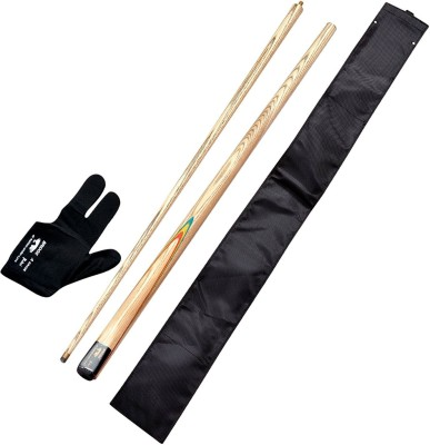 CUE POINT 5020G (gloves ,black cue cover n bridge cue) Snooker, Pool, Billiards Cue Stick(Wooden)