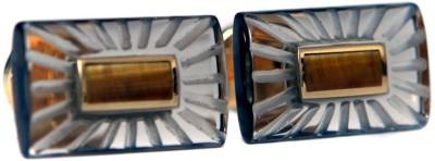 Blacksmithh Crystal Cufflink