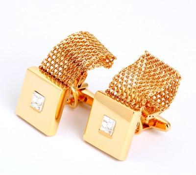 A&T London Brass Cufflink Set