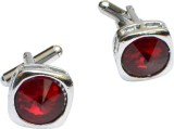 CooLife Alloy Cufflink (Red)