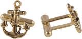 RMX Brass Cufflink Set (Silver)