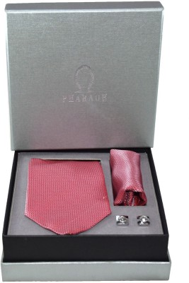 Pharaoh Silk Cufflink & Tie Pin Set