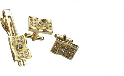 Chooz Designer Studio Alloy Cufflink & Tie Pin Set