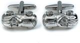Tiekart Brass Cufflink (Silver)