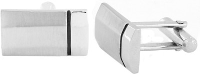 The Jewel Box Brass Cufflink Set(Silver)