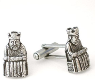 The Museum Outlet Alloy Cufflink Set