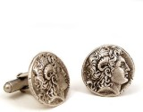 The Museum Outlet Alloy Cufflink Set (Go...