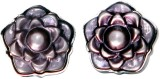 Blacksmithh Shell Cufflink (Purple)
