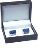 Mentiezi Metal Cufflink Set (Blue)