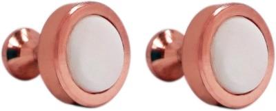 Blacksmith Brass Cufflink