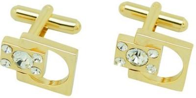 The Tie Hub Brass Cufflink Set