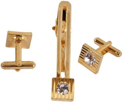 Sushito Alloy Cufflink & Tie Pin Set