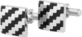Big Five Deals Brass Cufflink (Black, Si...