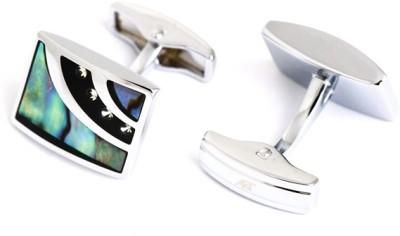 A&T London Stainless Steel Cufflink Set