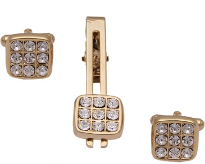 Sushito Alloy Cufflink & Tie Pin Set