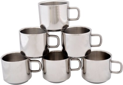 Dynore Set of 6 Double Wall Tea Cups DS_105