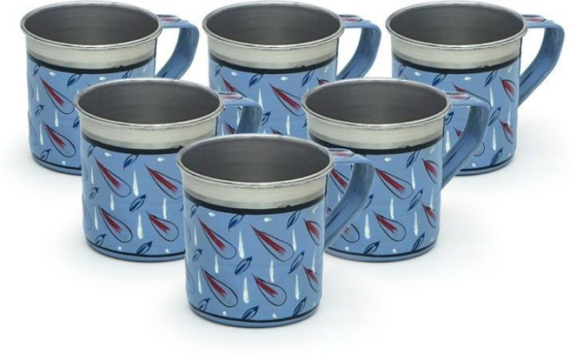 Kaushalam Cup Set Of 6 Blue TCUP19(Blue, Pack of 6)
