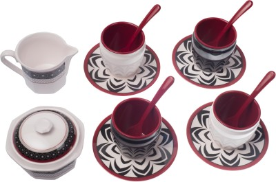 Ektra Superware Bidri Tea Set