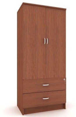 Housefull MARC 2D W/DRAWER WARD Engineered Wood Almirah(Finish Color - Oak) W DRAWER WDRAWER available at Flipkart for Rs.7780