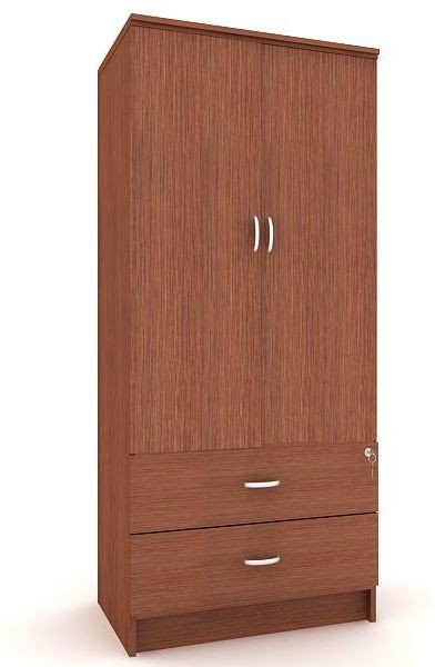Housefull MARC 2D W/DRAWER WARD Engineered Wood Almirah
