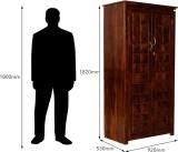 Induscraft Solid Wood Cupboard (Finish C...