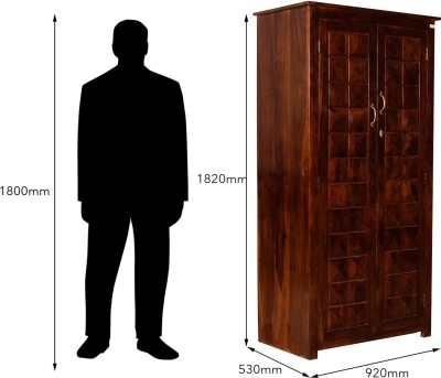 Induscraft Solid Wood Cupboard