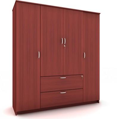 Housefull MARC 4D W/DRAWER WARD Engineered Wood Almirah