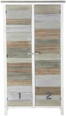 The Attic Solid Wood Cupboard(Finish Color - white)