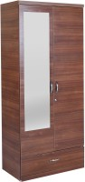 HomeTown Ultima 2 Door With Mirror Rwlnt Engineered Wood Almirah(Finish Color - Regato Walnut)