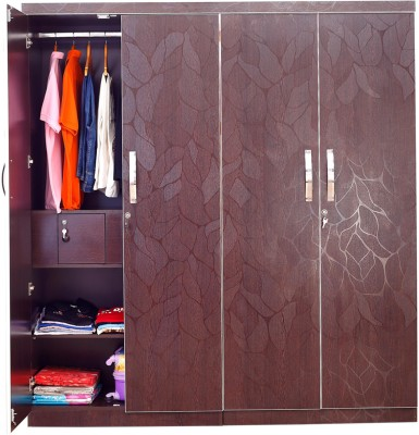 Furnicity Modern Solid Wood Cupboard