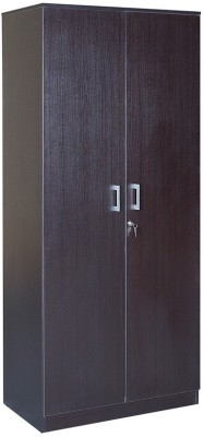 HomeTown Prime 2 Door Wenge Engineered Wood Almirah
