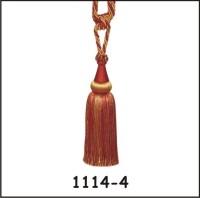 Tophome.in Orange, Gold Tieback Hook(Pack of 2)