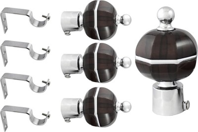 JAKABA Brown Curtain Finial
