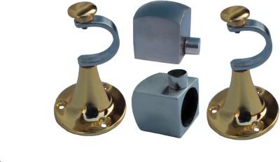 Aone Quality Gold, Silver Rod Rail Bracket