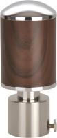 Kipwel Brown Rod Rail Bracket(Pack of 2)